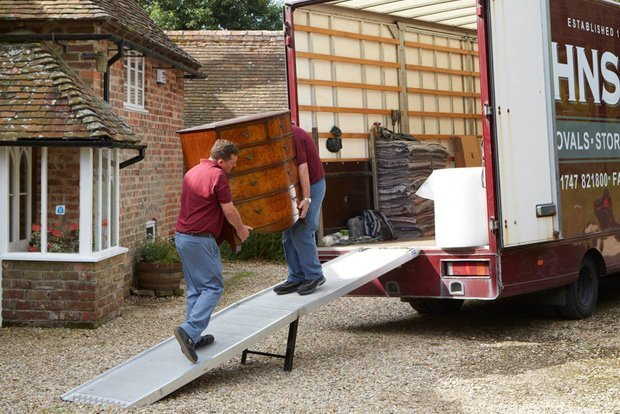 Smaller Home Moves with Johnson's,  Man with a Van Dorset