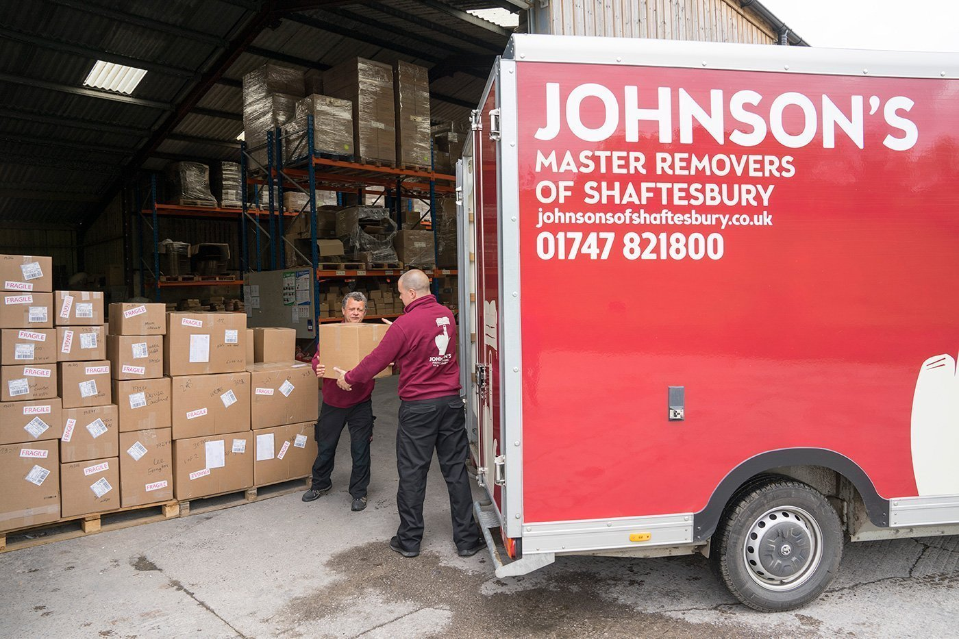 Removals and Storage for Small Businesses in Dorset